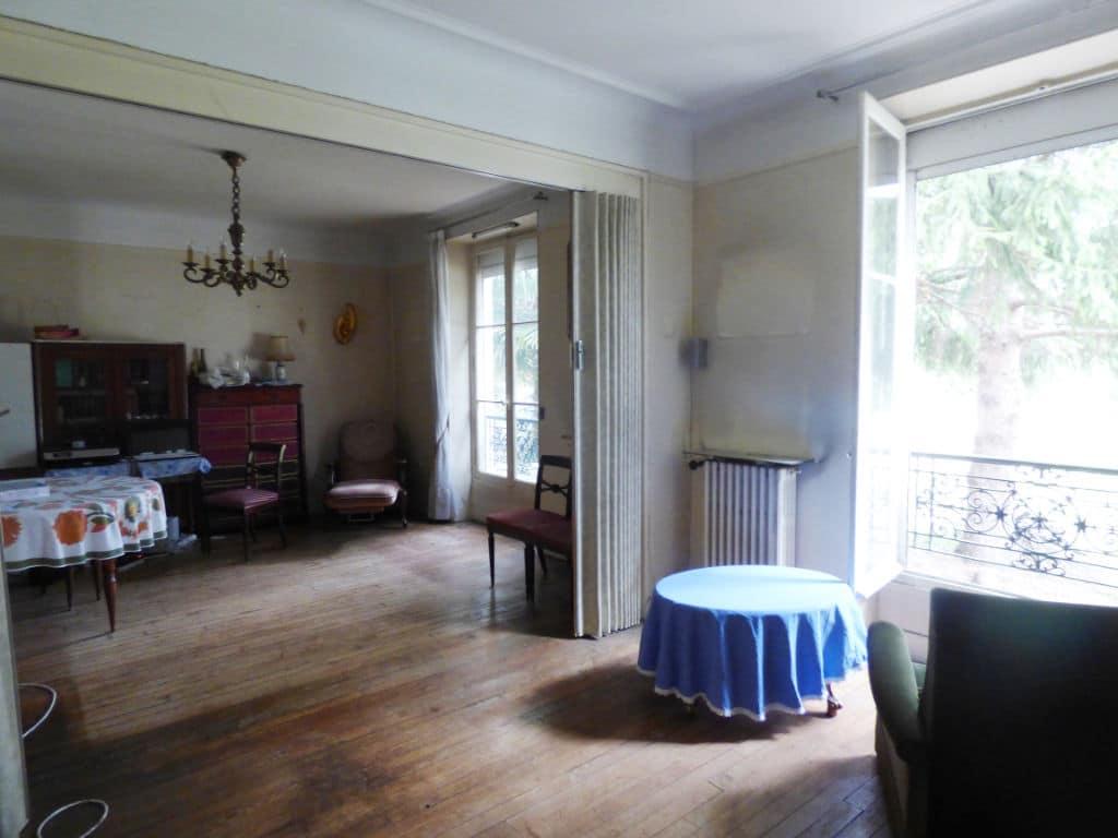 estimer maison maisons-alfort: 7 pièces 140 m², double séjour avec parquet chêne au sol