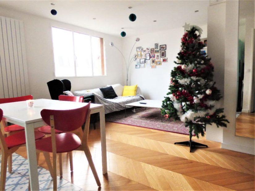 estimer appartement maisons-alfort: 3 pièces 65 m², beau séjour lumineux avec coin repas