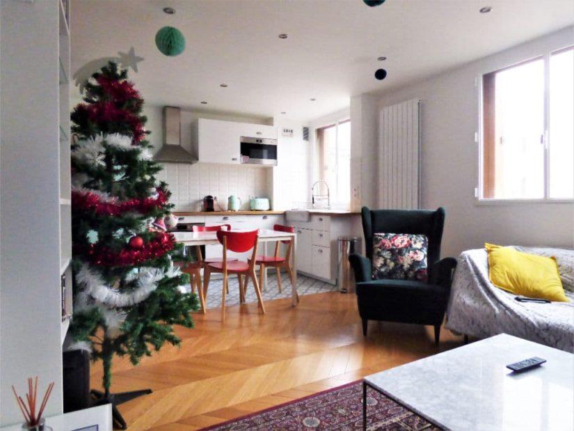 vente appartement maison alfort: 3 pièces 65 m², jolie cuisine américaine aménagée