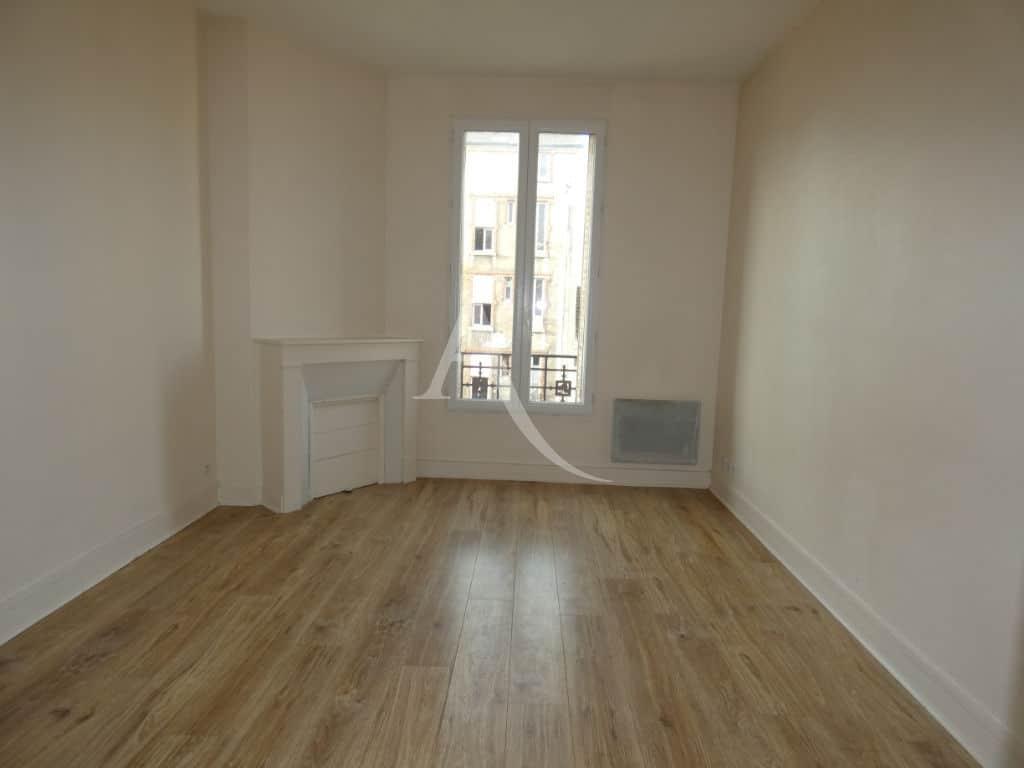 achat appartement alfortville: 2 pièces 35 m², séjour avec cheminée décorative