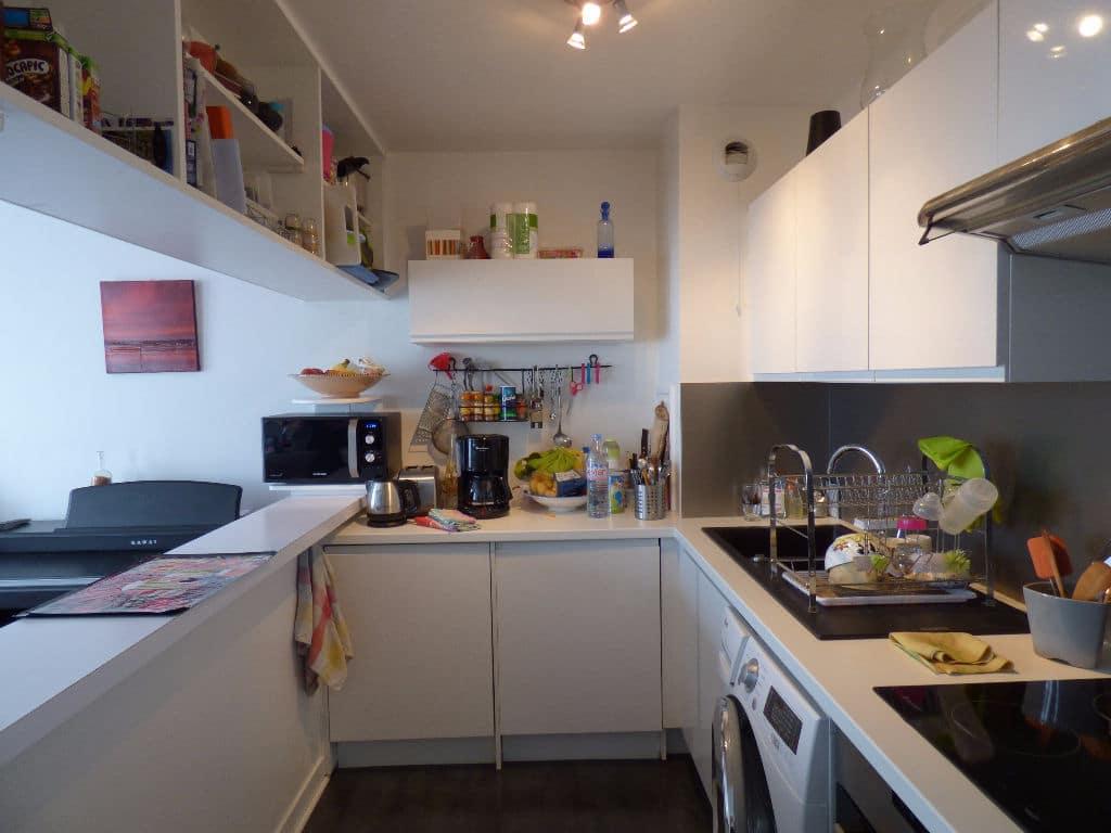 estimer appartement alfortville: duplex 3 pièces, cuisine américaine aménagée et équipée