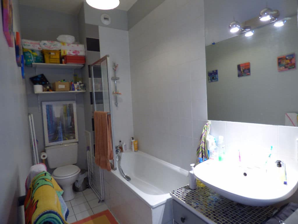 faire estimer appartement alfortville: duplex 3 pièces, salle de bain avec baignoire, wc