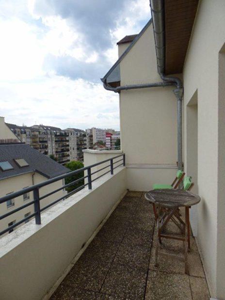 appartement a vendre alfortville: duplex 3 pièces, terrasse de 7.58 m²