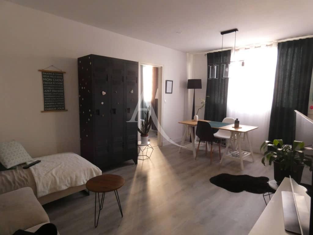 vente appartement 2 pieces alfortville: 2 pièces 47 m², salon / séjour attenant à la chambre