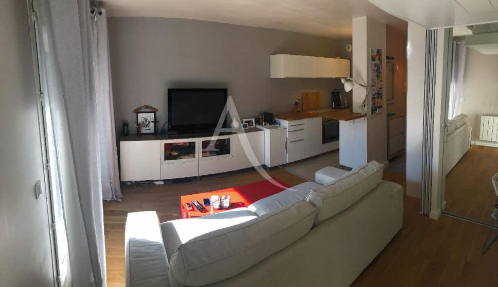 faire estimer appartement alfortville: 2 pièces 32 m², salon avec terrasse, jardin 29 m²