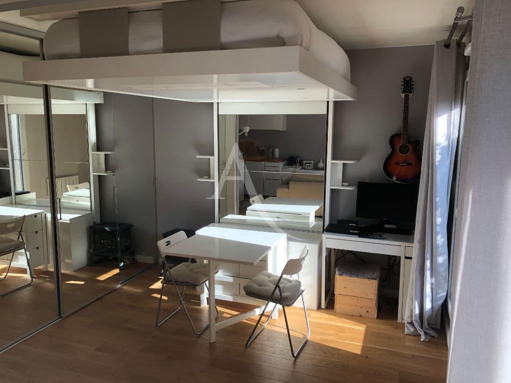 appartement à vendre à alfortville: 2 pièces, chambre à coucher, possibilité de fermer avec cloison amovible