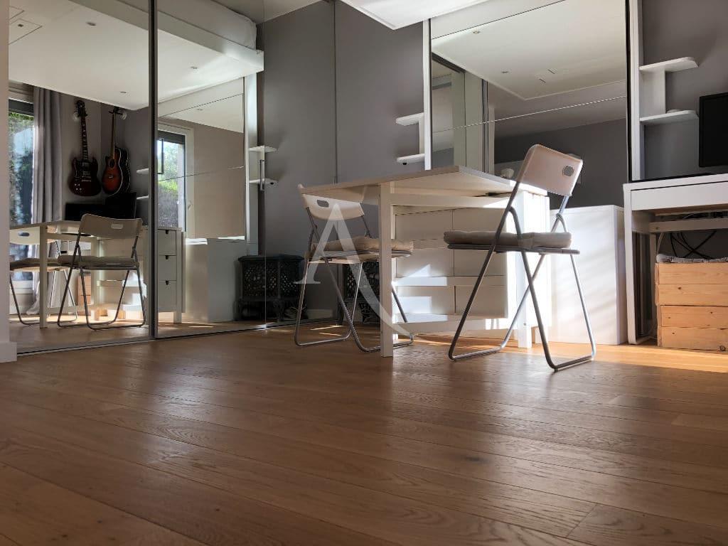 vendre appartement alfortville: 2 pièces 32 m², chambre ouverte avec lit escamotable