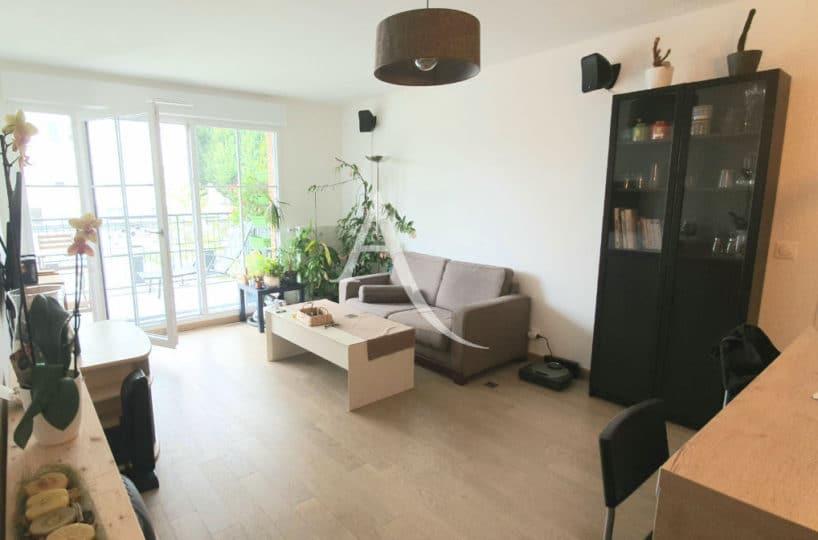 agence immobilière maisons-alfort: vente appartement 4 pièces 77 m² situé entre rer d et métro, balcon et terrasse