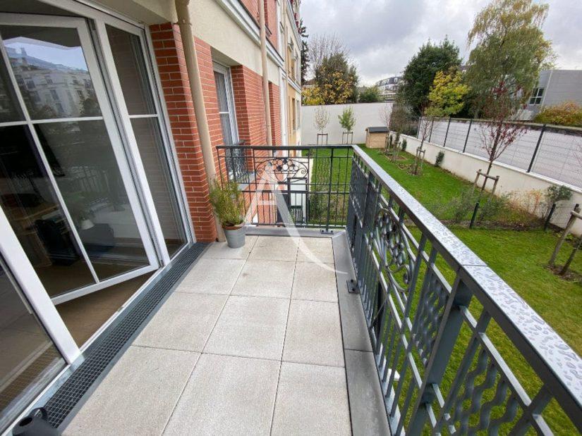 achat appartement maisons alfort: 4 pièces 77 m², balcon terrasse, vue sur espace vert
