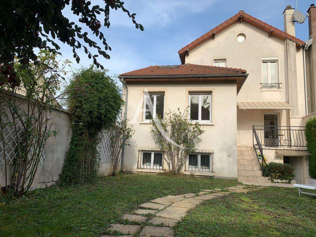 immobilier maisons-alfort: à vendre maison 7 pièces 191 m², dépendance 26 m², jardin 175 m², proche des bords de marne