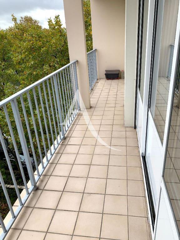 agences immobilières maisons alfort: appartement 4 pièces, large balcon 10 m², vue sur parc