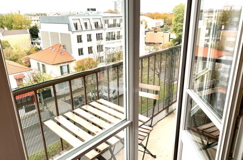 agence immobiliere maisons-alfort: appartement 3 pièces 65 m², beau balcon sans vis-à-vis avec vue panoramique