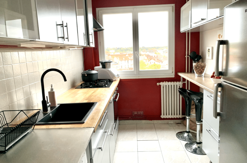 appartement maisons alfort: 3 pièces 65 m², cuisine indépendante, aménagée et équipée