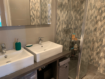 appartement maison alfort: 3 pièces 65 m², salle de bain récente avec double vasque et grande douche