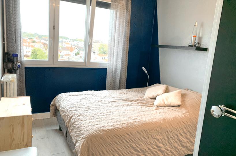 immobilier maison alfort: appartement 3 pièces 65 m², chambre parental, fenêtres basculantes avec volet électrique