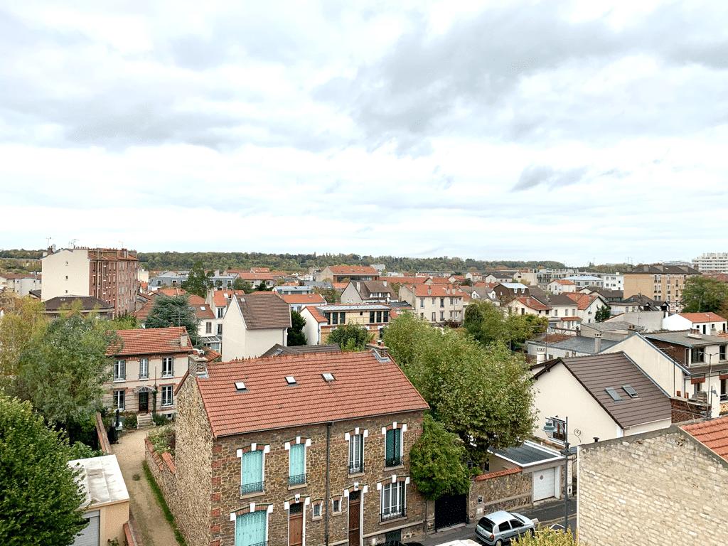 vendre appartement maisons-alfort: appartement 3 pièces 65 m², sans vis -à-vis, magnifique vue panoramique