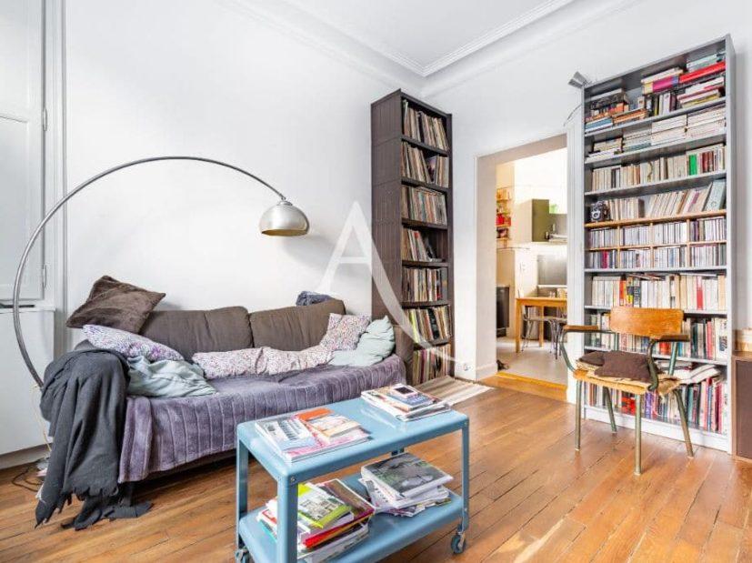 agence immobilière 94: appartement 4 pièces 69 m², à paris, spacieux séjour ouvert sur cuisine, placard encastré