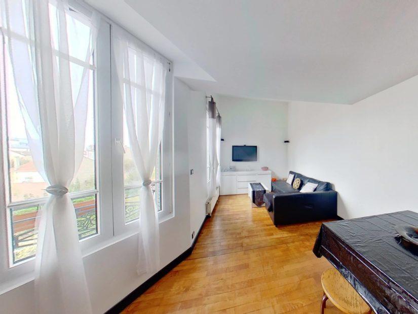 l'adresse alfortville: 4 pièces 46 m², séjour-double, grande fenêtre double vitrage
