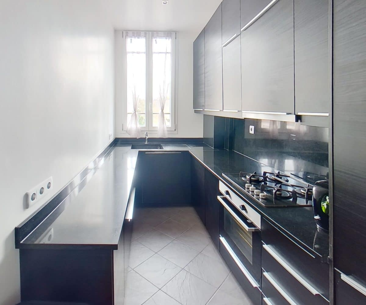 immo alfortville: à vendre, duplex 4 pièces, cuisine entièrement équipée et fonctionnelle