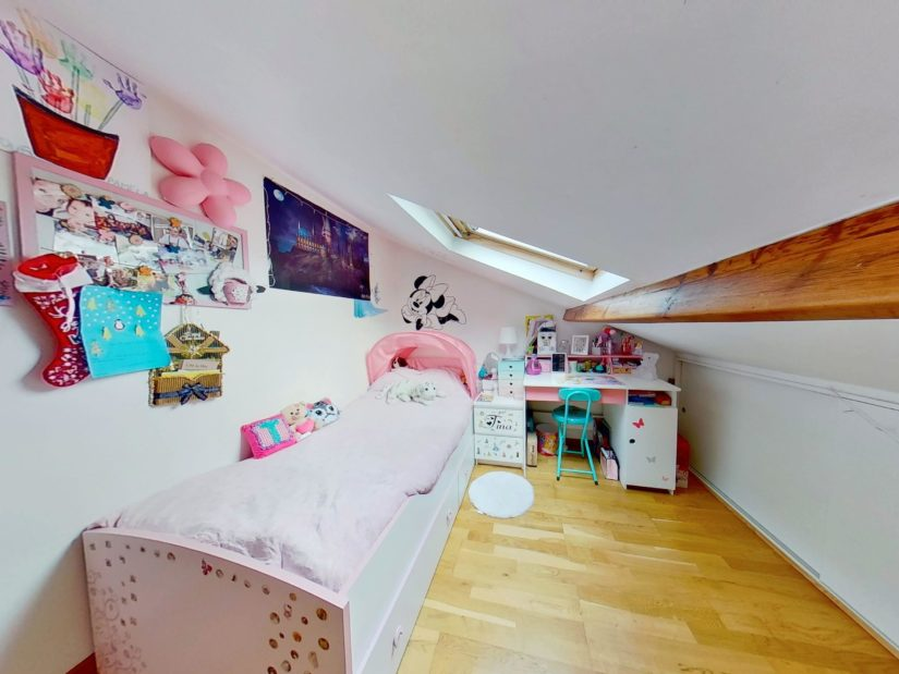 agence l'adresse alfortville: 4 pièces 46 m², niveau haut: 1° chambre à coucher