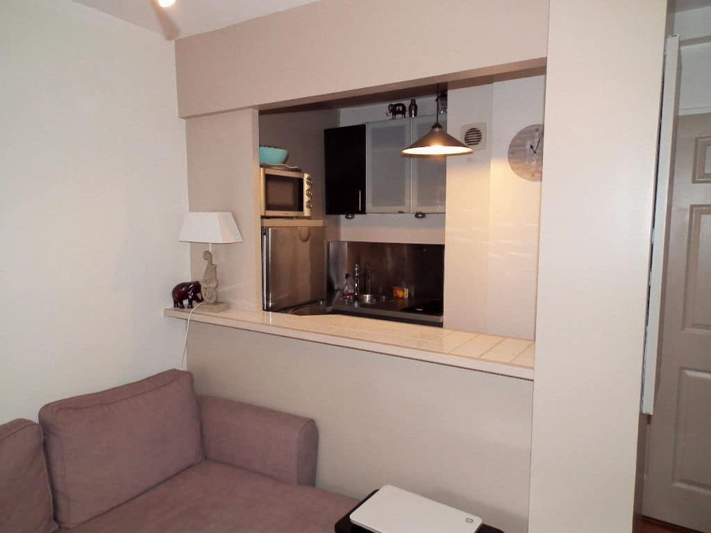 achat appartement alfortville: 2 pièces 37 m², cuisine ouverte et aménagée, passe-plat