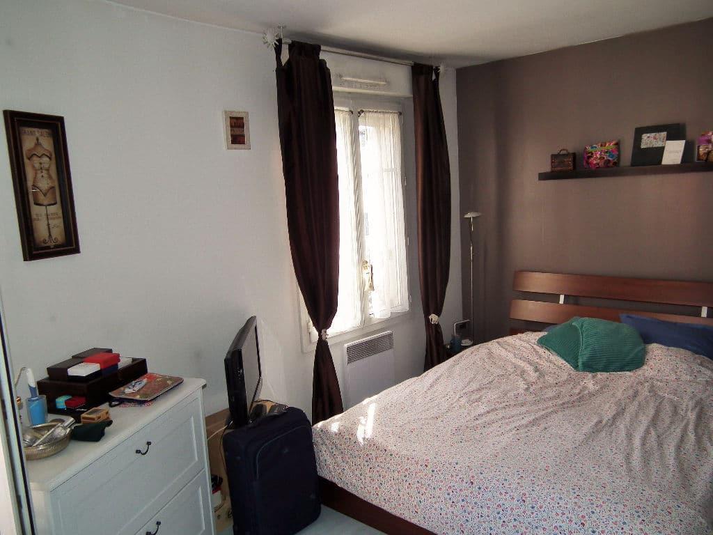 vendre appartement alfortville: 2 pièces 37 m², chambre à coucher, lit double