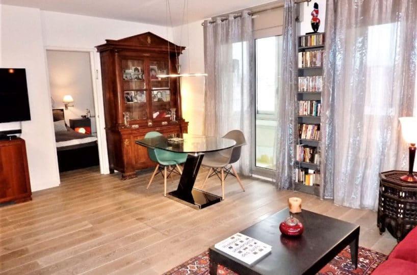 estimation appartement charenton: 3 pièces 55 m², séjour, avec loggia 4 m², proche bois de vincennes