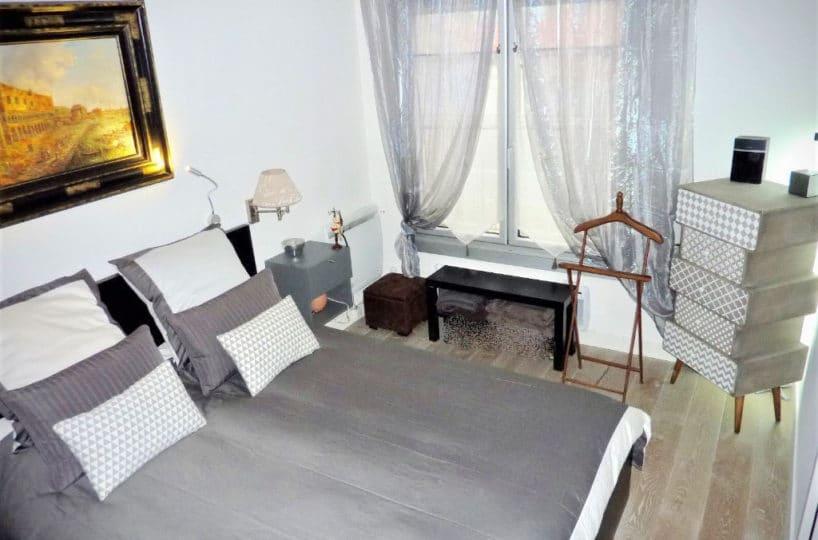 appartement à vendre charenton: 3 pièces, chambre à coucher lumineuse, très bon état