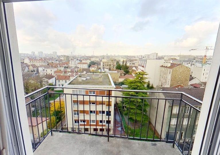 agence immo 94: studio 17 m², balcon dans la pièce à vivre, 7° étage sur 7, ascenseur