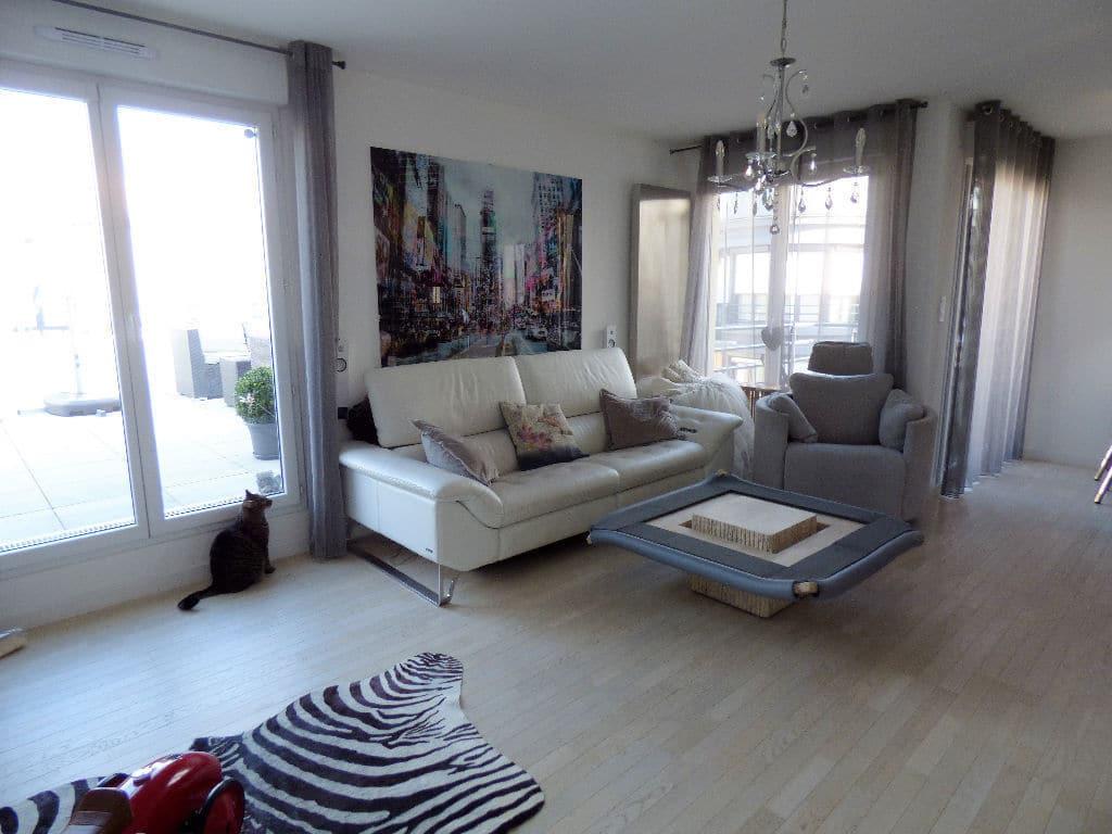 vente appartement maison alfort: 3 pièces 68 m², beau séjour avec grande terrasse