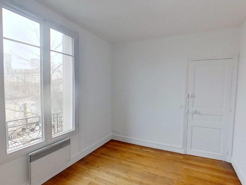 louer appartement maisons-alfort: 3 pièces 50 m², chambre à coucher parquetée