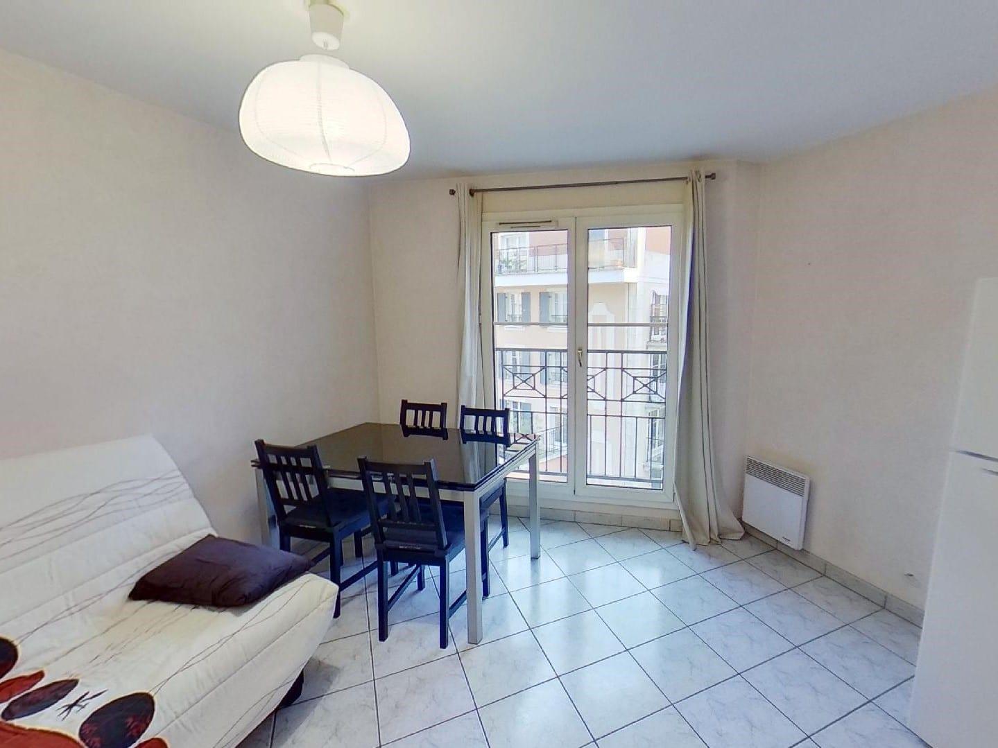 appartement a louer alfortville, 2 pièces 39 m², grand séjour clair