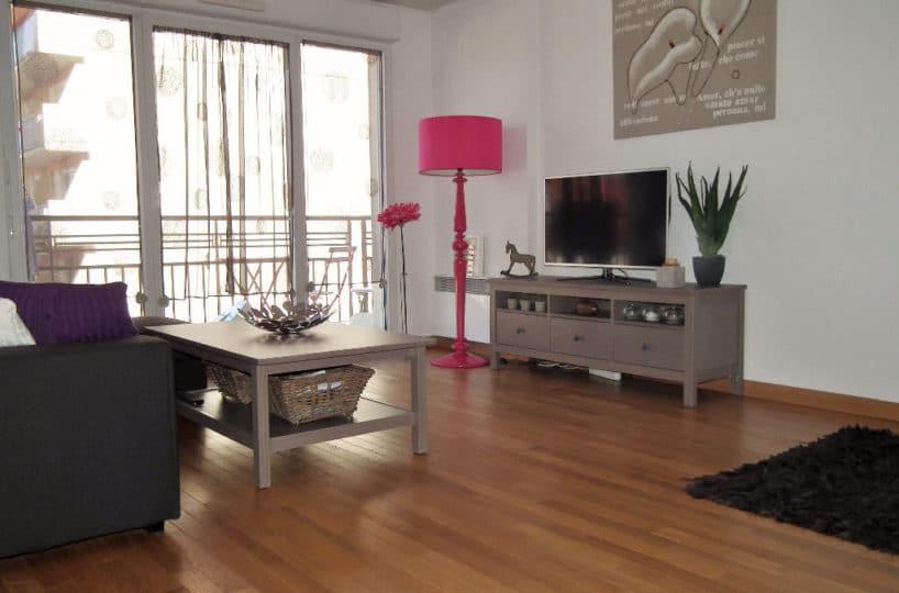 immo alfortville: appartement 3 pièces en duplex 62 m², séjour avec balcon, parking, centre ville