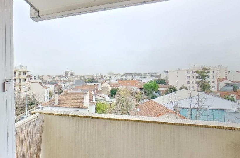 l adresse alfortville: studio 27 m², balcon avec auvent, 3° étage/5 avec ascenseur