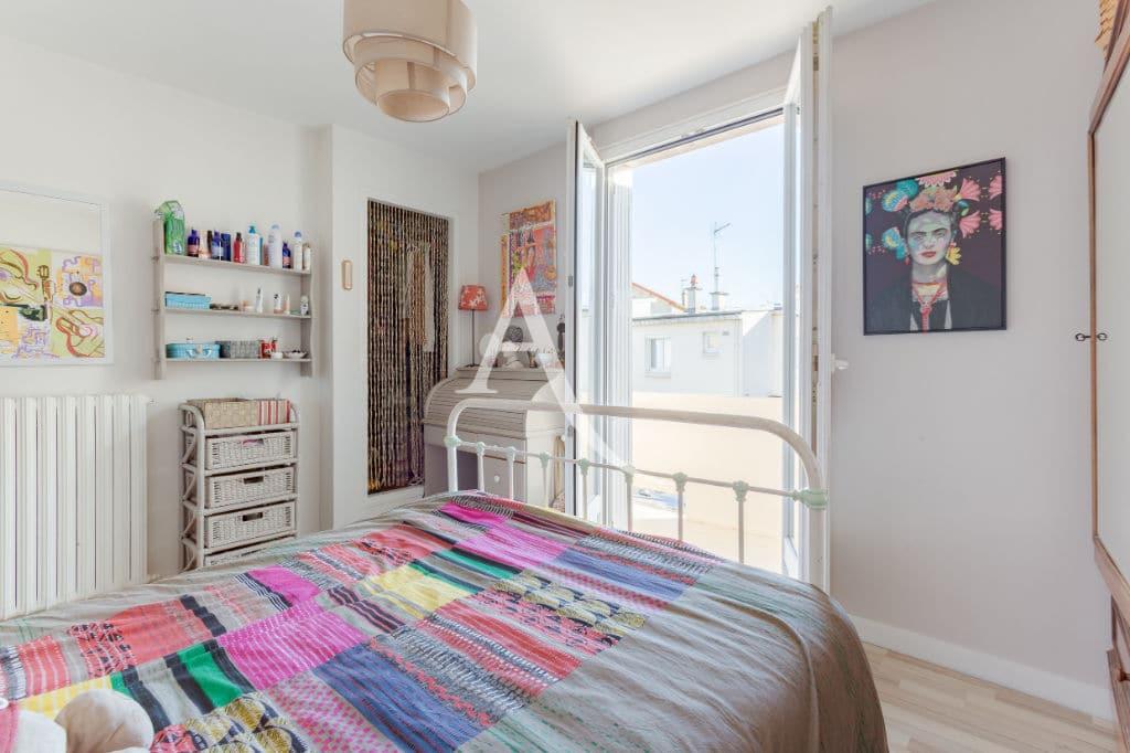 maison maisons alfort: 6 pièces 87 m², première chambre double accès balcon