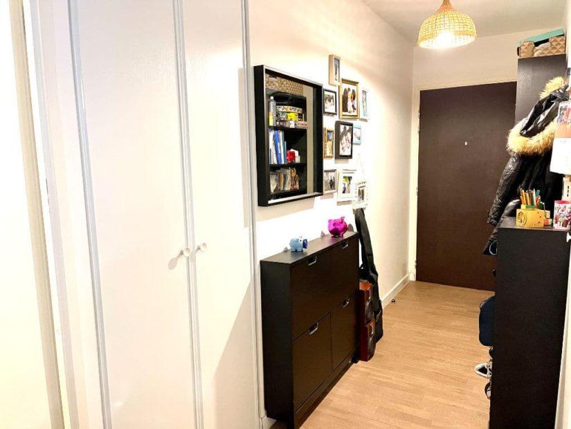 vente appartement maison alfort: 3 pièces 62 m², entrée avec dressing