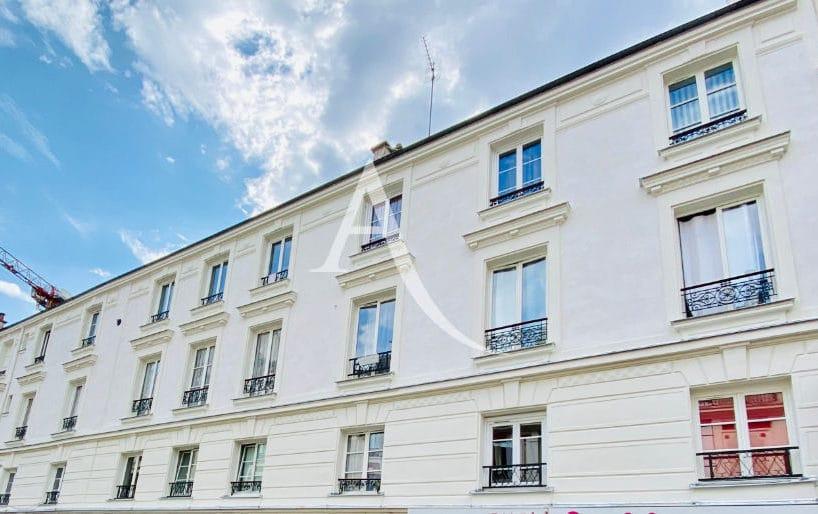 location studio charenton-le-pont: studio 19 m², belle façade d'immeuble près du bois de vincennes