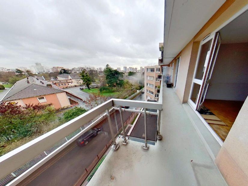 appartement à vendre val marne: 3 pièces 75 m², beau balcon donnant sur le séjour