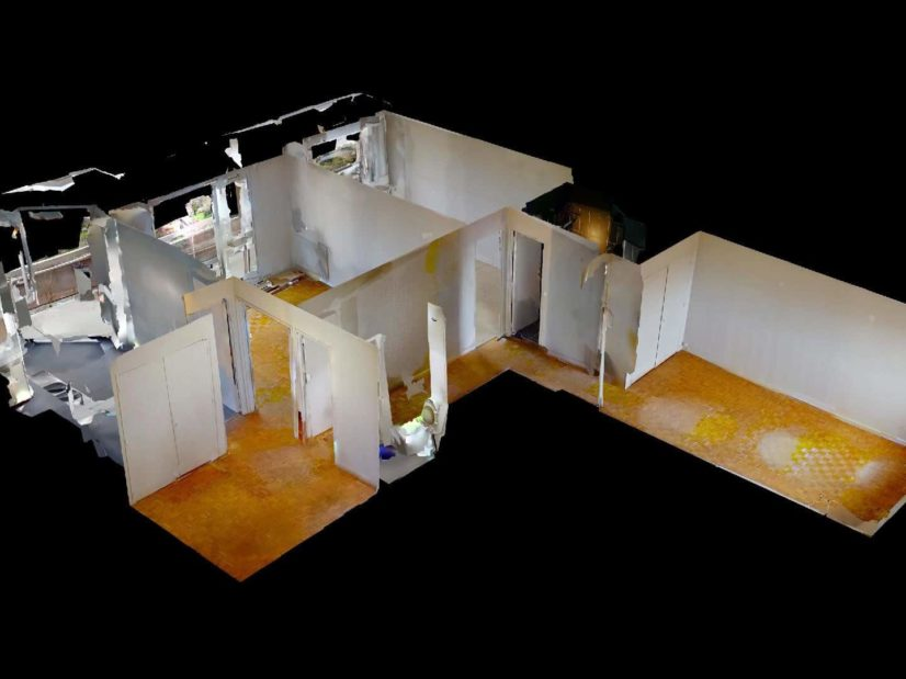 immobilier à acheter: 3 pièces 75 m², plan du sol de l'appartement