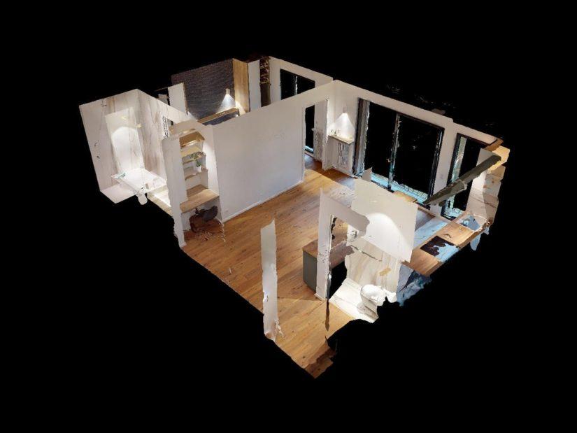 l'adresse valerie immobilier: 2 pièces 40 m², vue 3d de la visite virtuelle
