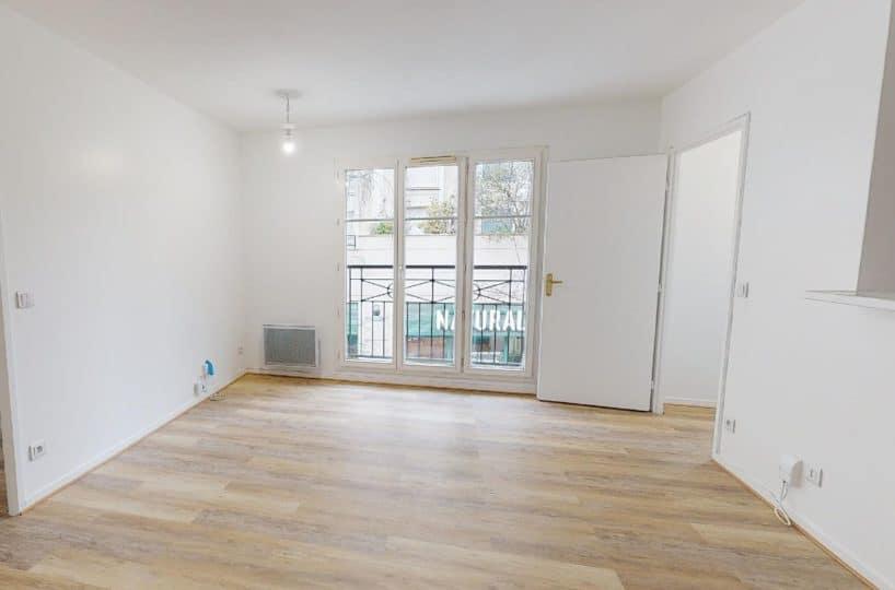 appartement à vendre maisons-alfort: 2 pièces 41 m², séjour avec cuisine américaine, métro école vétérinaire