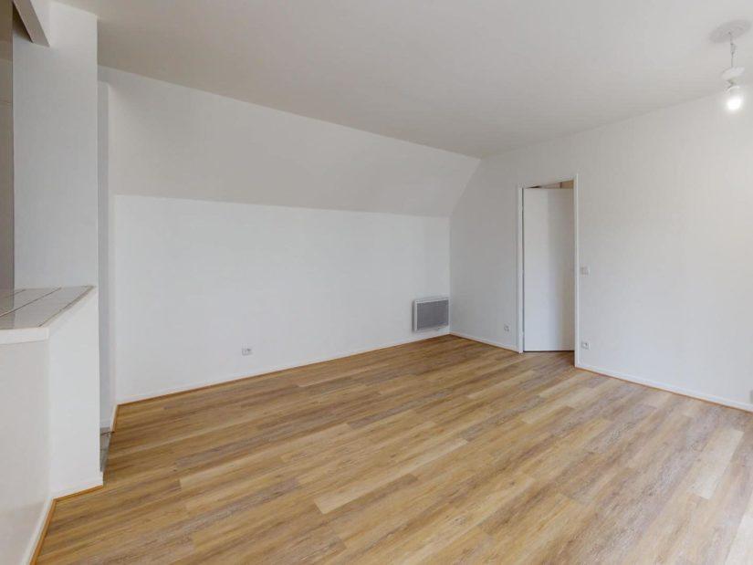 vente appartement maisons-alfort: 2 pièces 41 m², pièce à vivre avec cuisine américiane