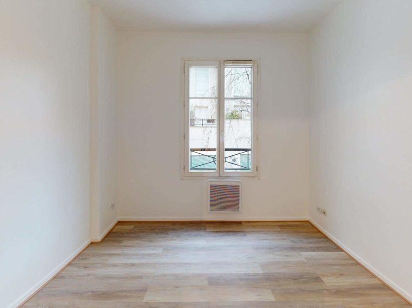 vente appartement maison alfort: 2 pièces 41 m², chambre à coucher, exposition sud ouest