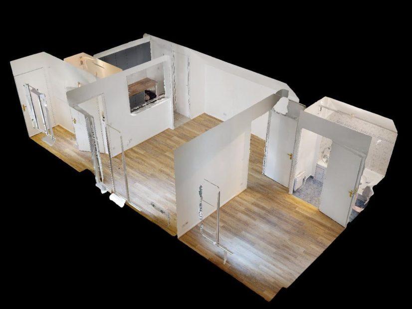 immo maisons alfort: 2 pièces 41 m², plan au sol détaillé de l'appartement