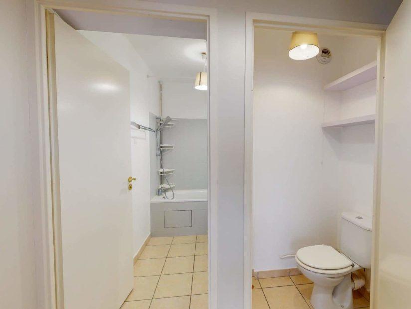 syndic alfortville: 2 pièces 45 m², salle de bains et wc séparés