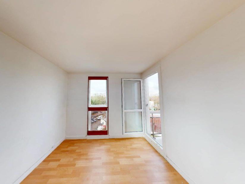 immobilier acheter: 4 pièces 85 m², 3° chambre à coucher lumineuse avec balcon