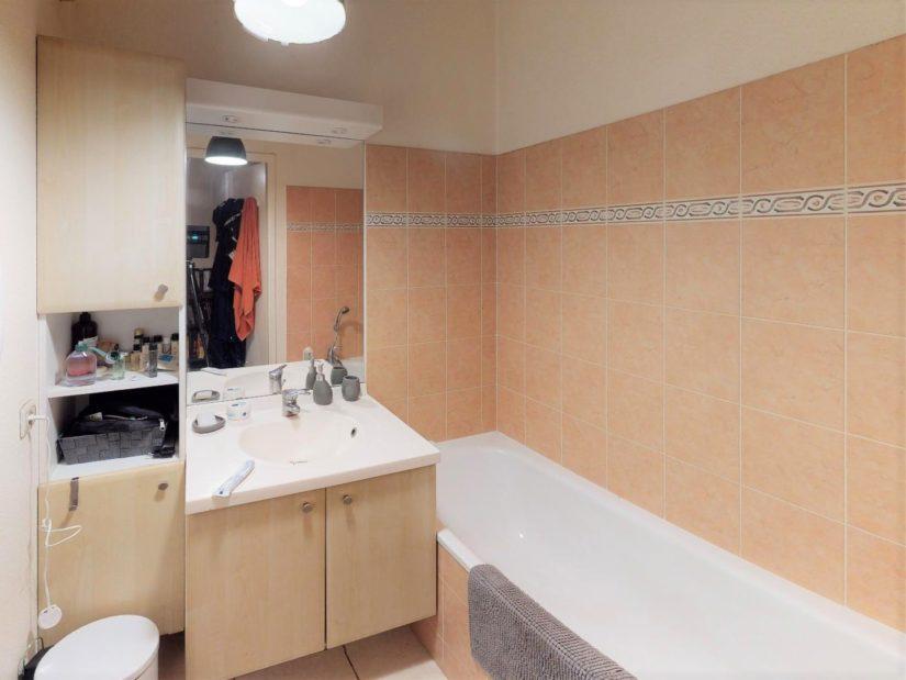 alfortville vente appartement: 2 pièces 45 m², salle de bain avec baignoire, wc séparés
