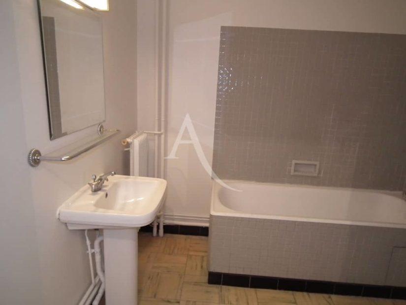 vente studio à charenton le pont: 29 m², salle de bains avec baignoire et lavabo