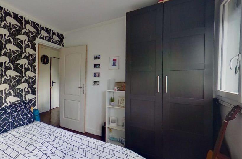 vente appartement charenton le pont 94220: 3 pièces, 2° chambre à coucher, parquet au sol