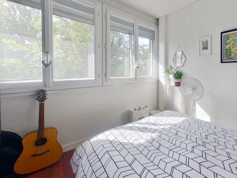 appartement à vendre charenton le pont: 3 pièces 50 m², 2° chambre à coucher exposée sud